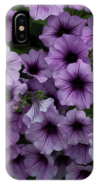 Cascade In Violet IPhone Case