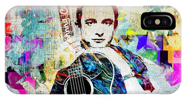 Johnny Cash iPhone Case - Cash by Tim Palmer
