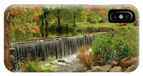 IPhone Case featuring the photograph Cass Dam by Debbie Stahre