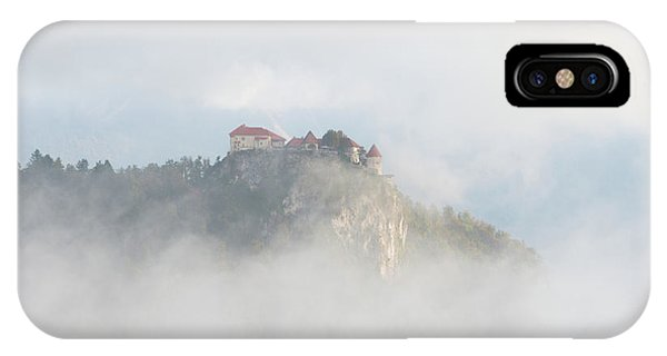 IPhone Case featuring the photograph Castle In The Sky by IPics Photography