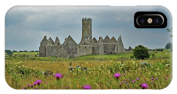 IPhone Case featuring the photograph Castle In The Wildflowers by Mark Duehmig
