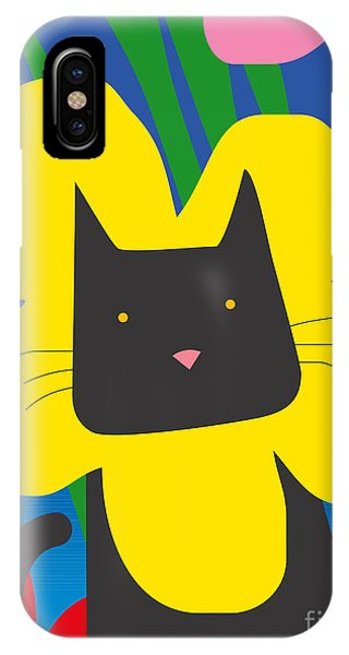 Scent iPhone Case - Cat Look 1 by Artistan
