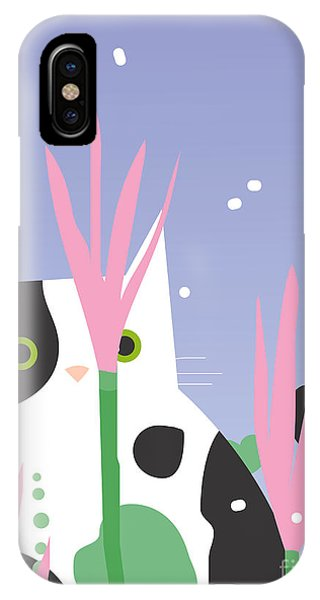Scent iPhone Case - Cat Look 10 by Artistan