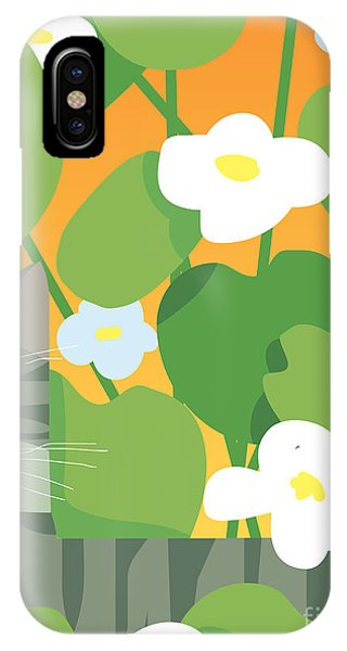 Scent iPhone Case - Cat Look 11 by Artistan