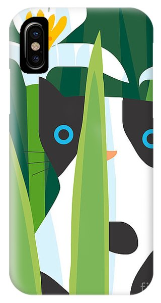 Scent iPhone Case - Cat Look 2 by Artistan