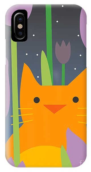 Scent iPhone Case - Cat Look 3 by Artistan