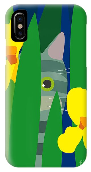 Scent iPhone Case - Cat Look 9 by Artistan