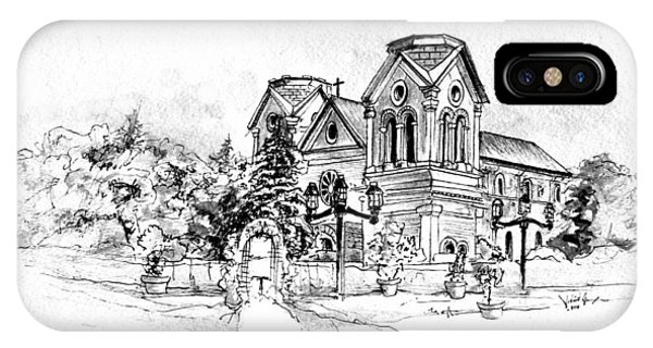 Cathedral Basilica Of St. Francis Of Assisi - Santa Fe, New Mexico IPhone Case