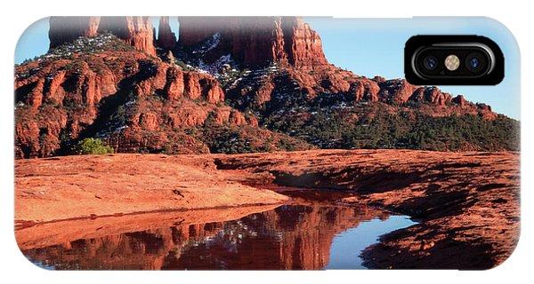 Cathedral Rock Reflection II IPhone Case