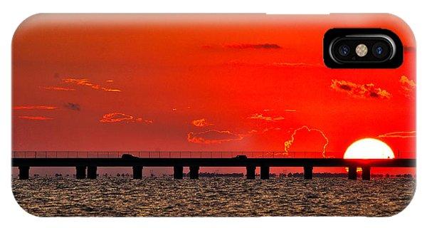 Causeway Sunset IPhone Case