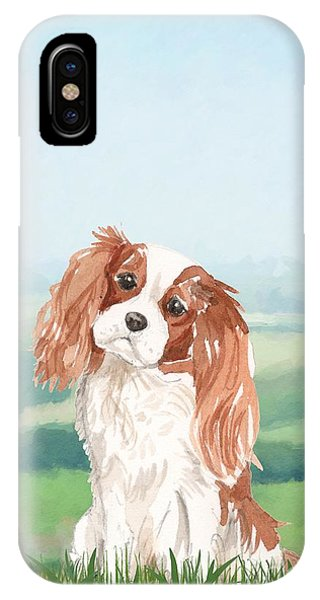 King Charles iPhone Case - Cavalier King Charles Spaniel by John Edwards