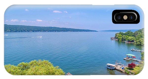 Cayuga Lake IPhone Case