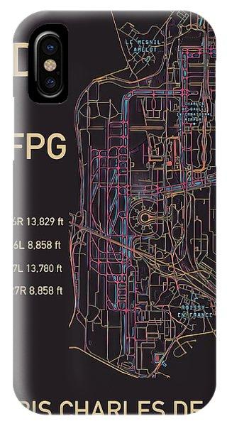 Cdg Paris Airport IPhone Case