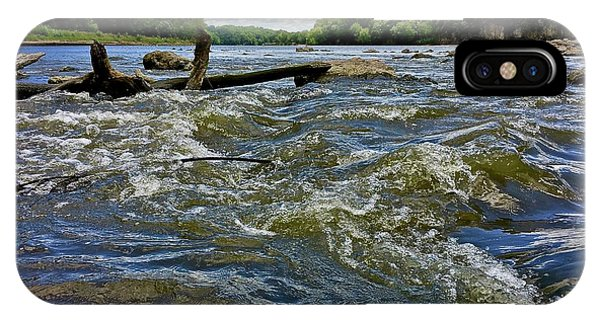 IPhone Case featuring the photograph Cedar River Iowa by Dan Miller