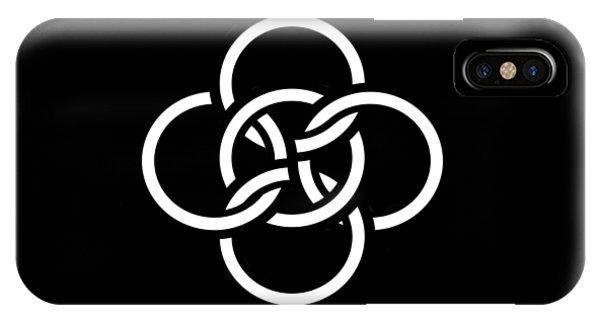 Celtic Five Fold Symbol 2 IPhone Case