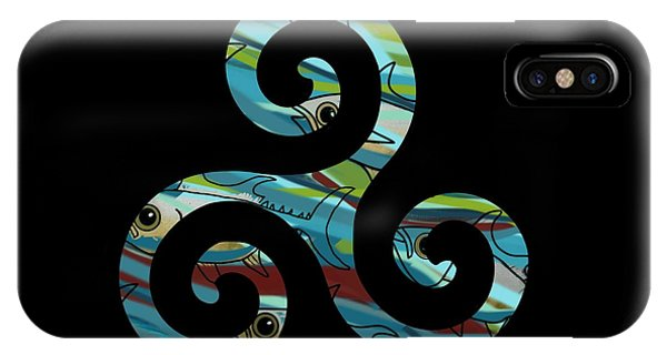 Celtic Spiral 2 IPhone Case