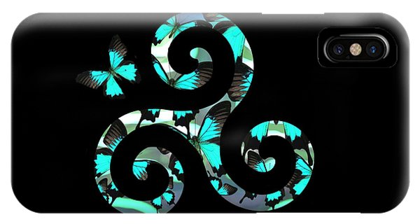 Celtic Spiral 3 IPhone Case