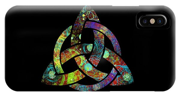 Celtic Triquetra Or Trinity Knot Symbol 3 IPhone Case