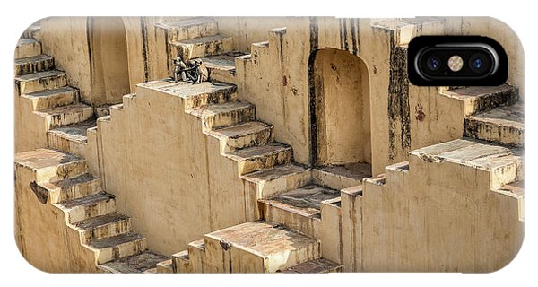 Chand Baori IPhone Case