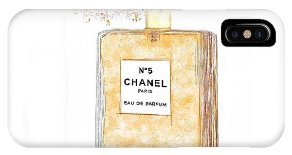 Chanel Splash IPhone Case