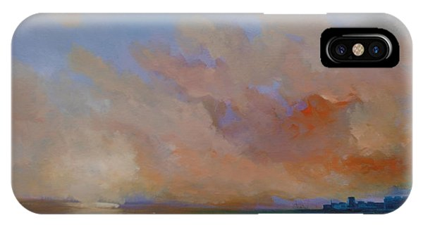 Charles Fort Kinsale Below A Painted Sky Phone Case by Conor Murphy