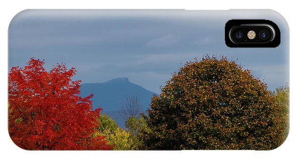 Charlotte Vermont View Of Camels Hump IPhone Case