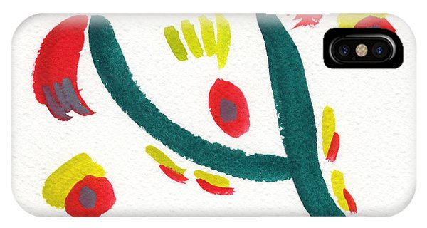 IPhone Case featuring the painting Chasing by Bee-Bee Deigner