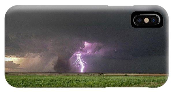 Chasing Naders In Nebraska 017 IPhone Case