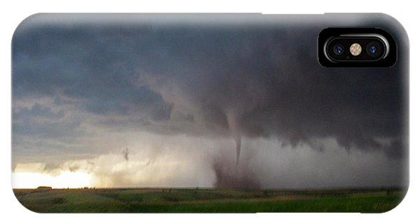 Chasing Naders In Nebraska 026 IPhone Case