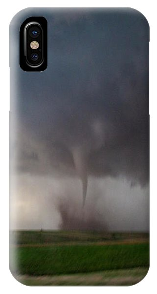 IPhone Case featuring the photograph Chasing Naders In Nebraska 026 by Dale Kaminski