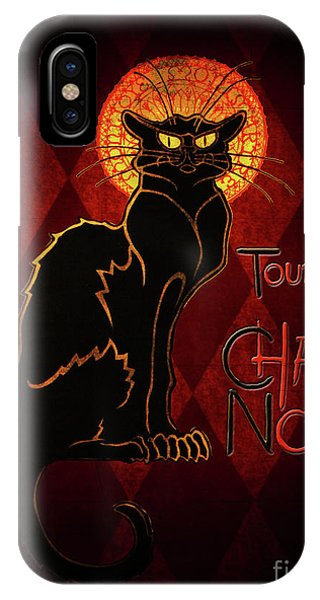 iPhone Case - Chat Noir by Shanina Conway