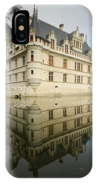 IPhone Case featuring the photograph Chateau Azay-le-rideau, by Stephen Taylor