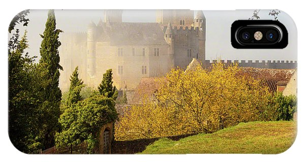 Chateau Beynac In The Mist IPhone Case