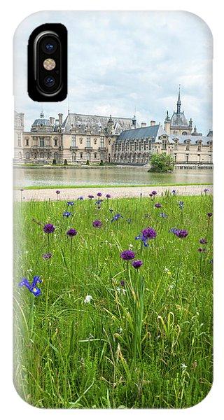 Chateau De Chantilly, Chantilly, France Phone Case by Lisa S. Engelbrecht