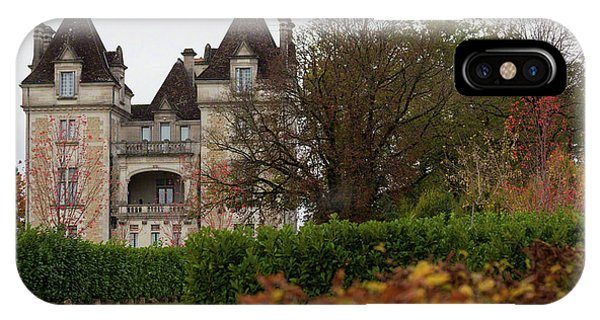 Chateau, Near Beynac, France IPhone Case