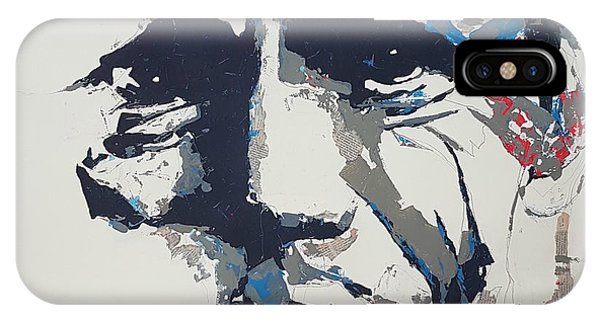Oklahoma iPhone Case - Chet Baker - Abstract  by Paul Lovering