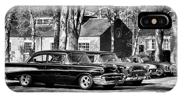 Chevrolets Monochrome Phone Case by Tim Gainey