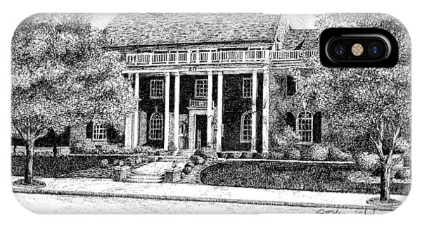 Purdue Boilermakers iPhone Case - Chi Omega Sorority House, Purdue Universit, West Lafayette, Indiana by Stephanie Huber