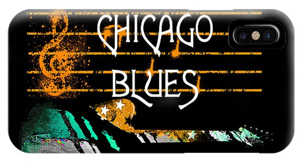Chicago Blues Music IPhone Case