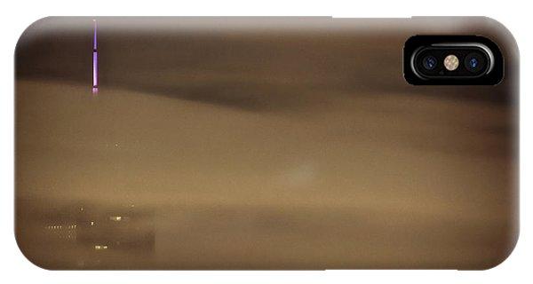 Chicago iPhone Case - Chicago In Fog by Bruno Passigatti
