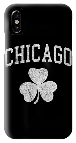 St. Patricks Day iPhone Case - Chicago Irish Shamrock by Flippin Sweet Gear