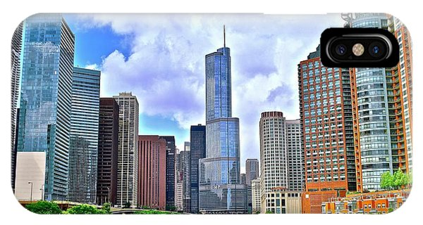 Bean Town iPhone Case - Chicago River View by Frozen in Time Fine Art Photography