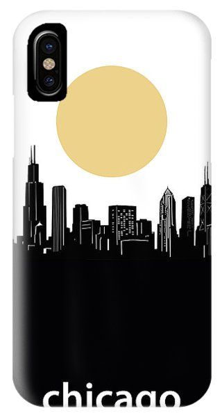 John Hancock Center iPhone Case - Chicago Skyline Minimalism by Bekim M
