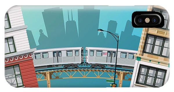 Work iPhone Case - Chicago Traffic by Nikola Knezevic