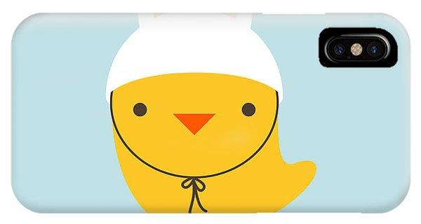 One iPhone Case - Chicken Rabbit by Gaba Duran