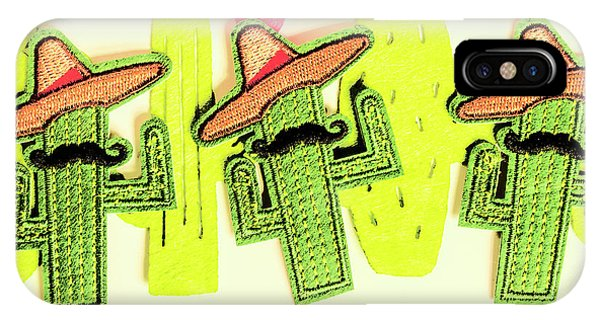 Cacti iPhone Case - Chili Con Cacti by Jorgo Photography - Wall Art Gallery