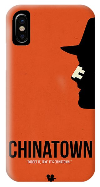 Jack iPhone Case - Chinatown by Naxart Studio