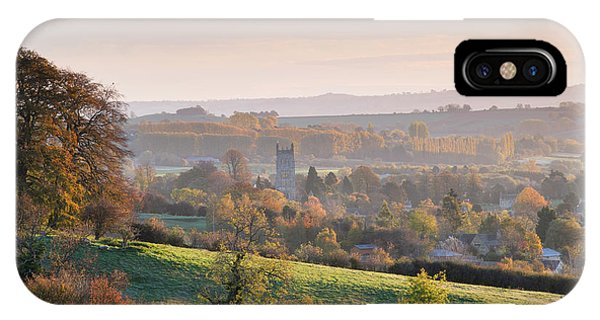 Chipping Campden Autumn Morning Cotswolds Phone Case by Tim Gainey