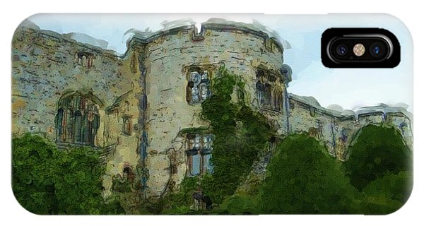Chirk Castle Painting IPhone Case
