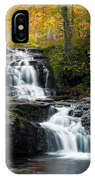Choke Creek Falls Phone Case by Michael Gadomski